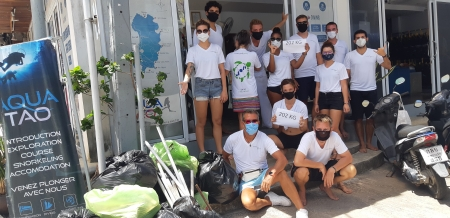 AquaTao Beach Cleaning June 2020